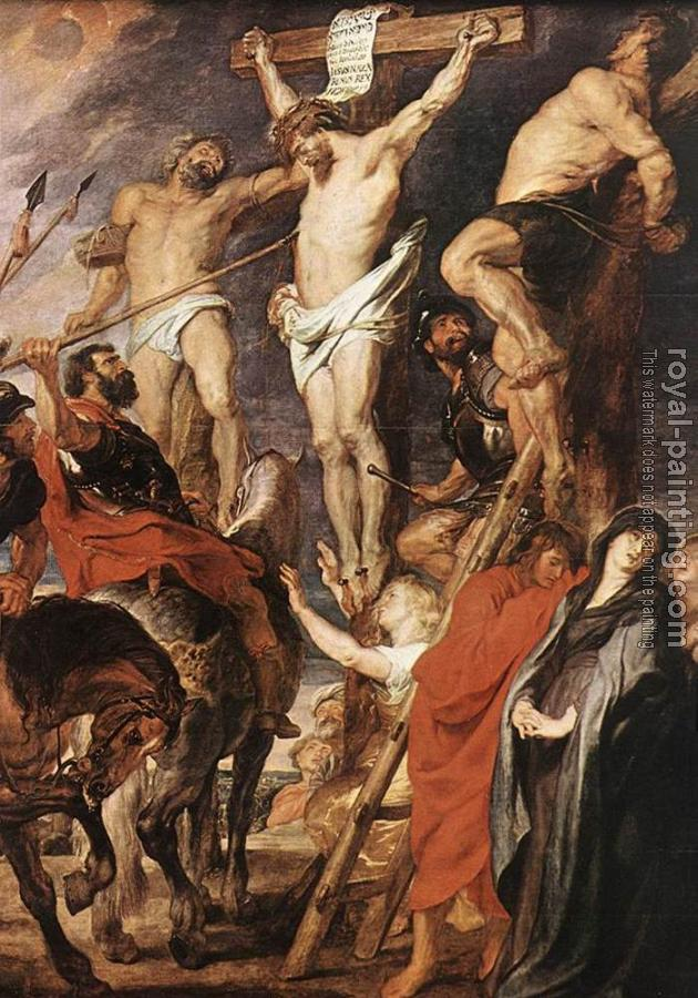 Peter Paul Rubens : Christ on the Cross between the Two Thieves